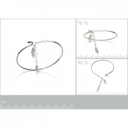 Bracelet fin 56mm rigide 2...