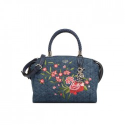 Sac à main Guess jean denim bleu